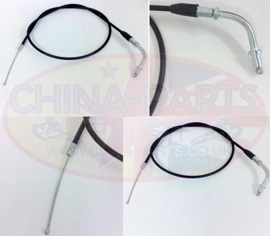 China Parts Ltd Throttle Cable - Kinroad XT 50-18 (early style)