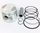 50cc Piston & Rings Set - 39mm